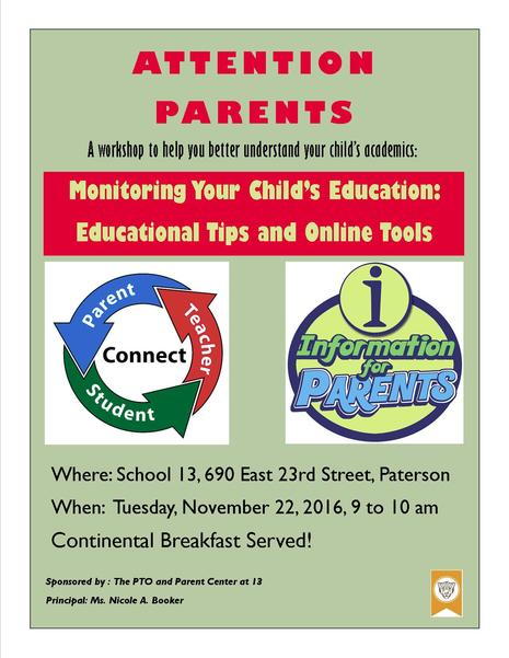 In support of American Education Parent Day a Parent Workshop