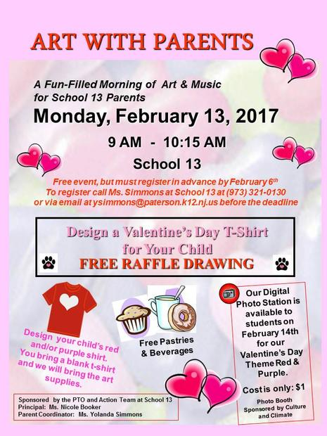 Art with Parents - February 13, 2017