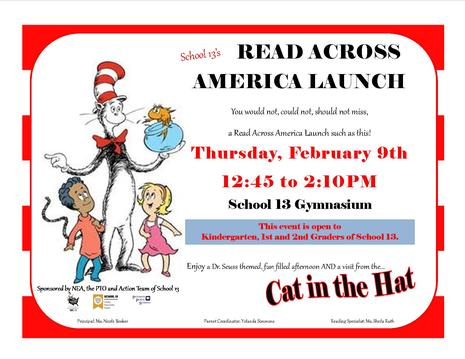 Read Across America Launch